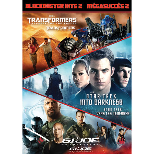 Blockbuster Hits 2: Transformers: Revenge of the Fallen/ Star Trek: Into Darkness/ G.I. Joe: Retaliation