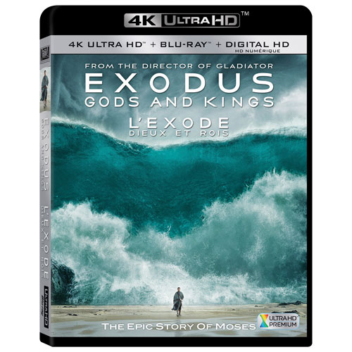 Exodus: Gods and Kings (Ultra HD 4K) (Combo Blu-ray)