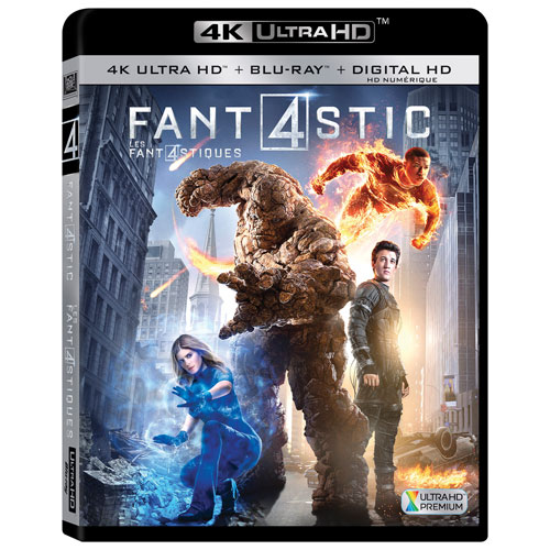 Fantastic Four (4K Ultra HD) (Blu-ray Combo) (2015)