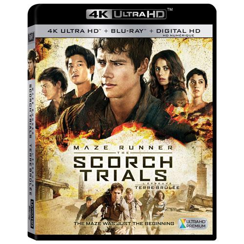 Maze Runner 2: The Scorch Trials (4K Ultra HD) (Blu-ray Combo) (2015)