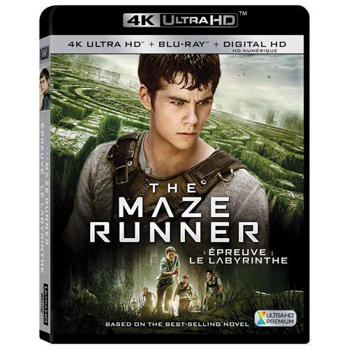 The Maze Runner (4K Ultra HD) (Blu-ray Combo) (2014)