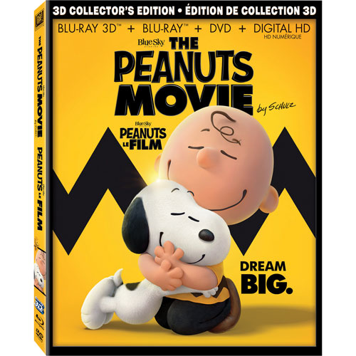 The Peanuts Movie (3D Blu-ray Combo) (2015)