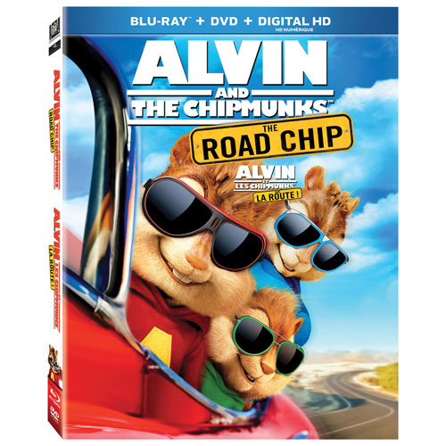 Alvin and The Chipmunks: The Road Chip (Blu-ray) (2015)
