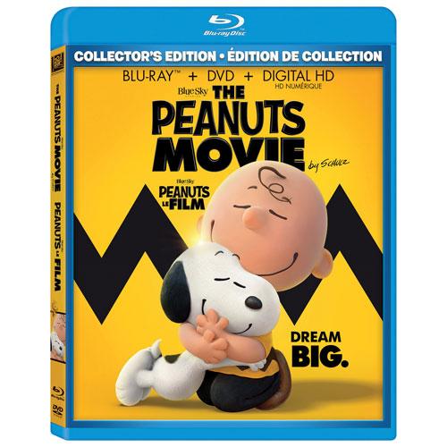 The Peanuts Movie (Blu-ray Combo) (2015)