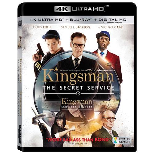 Kingsman: The Secret Service (4K Ultra HD) (Blu-ray Combo)