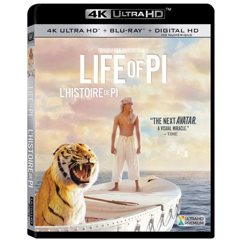 Life Of Pi (Ultra HD 4K) (Combo Blu-ray)