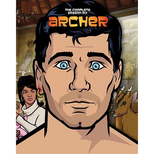 Archer: saison 6 (anglais) (Blu-ray)