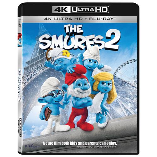 Smurfs 2 The (Ultra HD 4K) (Combo Blu-ray)