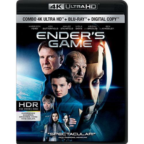 Ender's Game (Ultra HD 4K) (Combo Blu-ray) (2013)