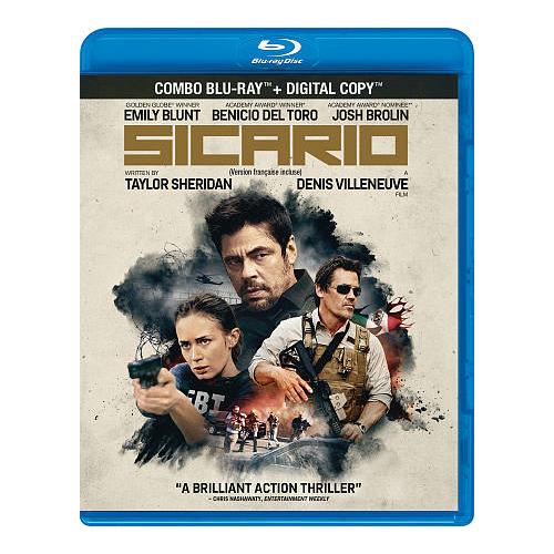 Sicario (4K Ultra HD) (Blu-ray Combo) (2015)