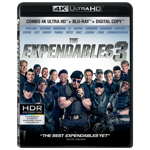 The Expendables 3 (Ultra HD 4K) (Combo Blu-ray) (2014)