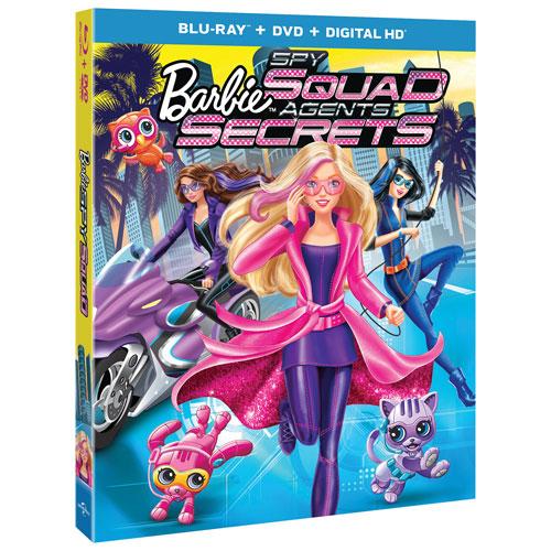 Barbie: Spy Squad (Blu-ray Combo)