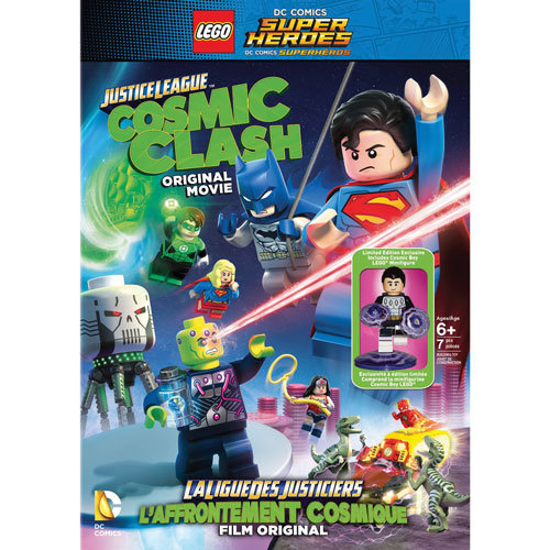 LEGO DC Comics Super Heroes: Justice League: Cosmic Clash (Bilingual) (With Figurine)