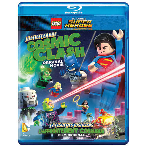 LEGO DC Comics Super Heroes: Justice League: Cosmic Clash (Bilingual) (Blu-ray Combo)