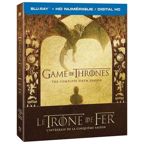Game of Thrones: Season 5 (Bilingual) (Blu-ray)