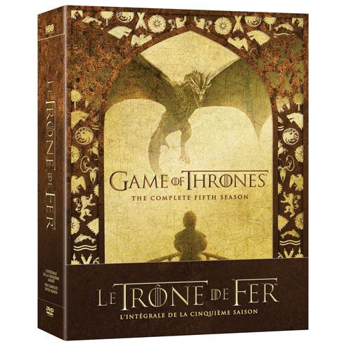 Game of Thrones: l'intégrale de la cinquième saison (bilingue)