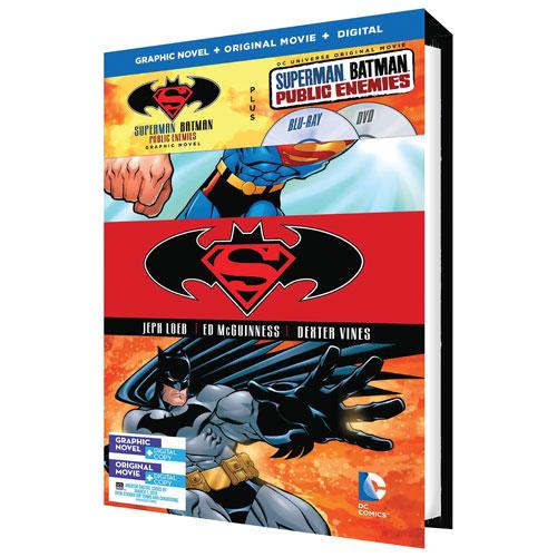 Superman/ Batman: Public Enemies (With Graphic Novel) (Blu-ray Combo)