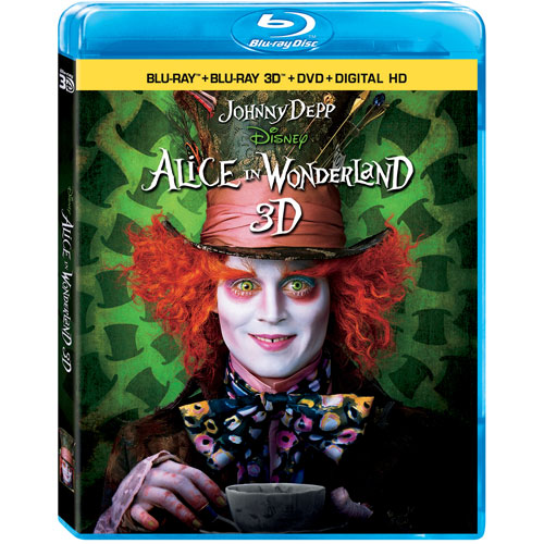Alice in Wonderland (anglais) (combo Blu-ray 3D)