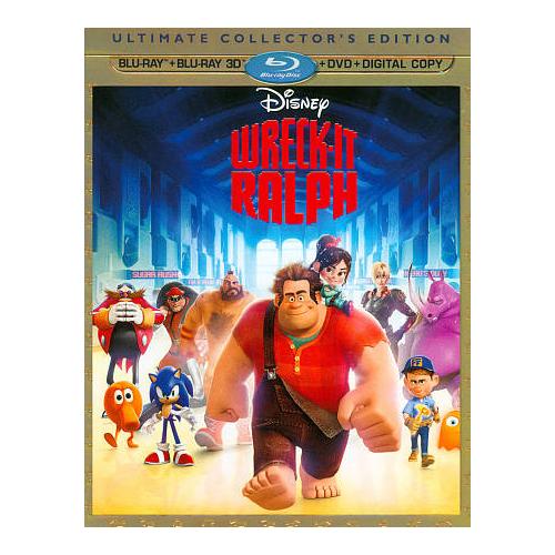 Wreck-It Ralph (anglais) (combo Blu-ray 3D)
