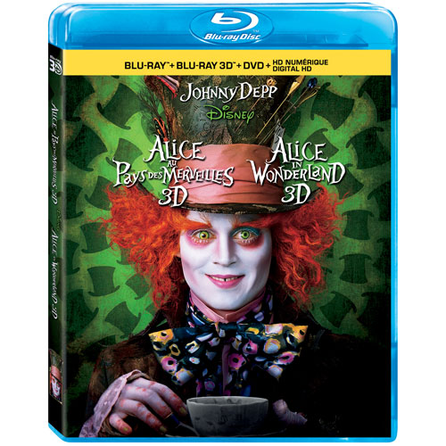 Alice in Wonderland (bilingue) (combo Blu-ray 3D)