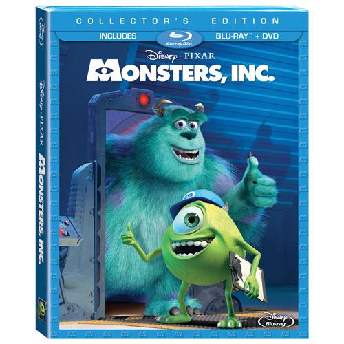 Monsters Inc. (English) (3D Blu-ray Combo)