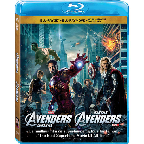 Marvel's The Avengers (bilingue) (combo Blu-ray 3D)
