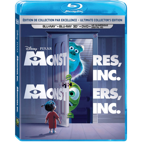 Monsters Inc. (bilingue) (combo Blu-ray 3D)