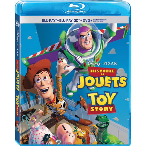 Toy Story (bilingue) (combo Blu-ray 3D)