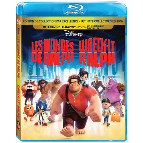 Wreck-It Ralph (Bilingual) (3D Blu-ray Combo) (2012)