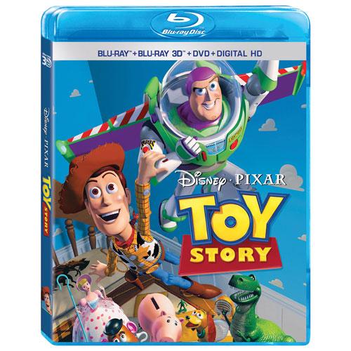 Toy Story (English) (3D Blu-ray Combo)