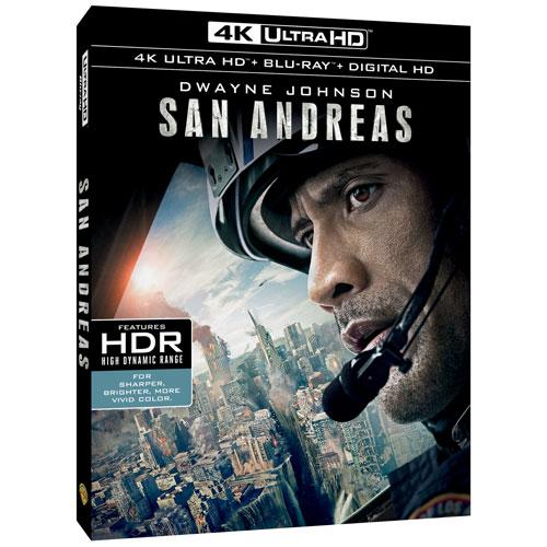 San Andreas (Bilingual) (4K Ultra HD) (Blu-ray Combo) (2015)