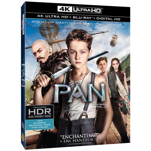 Pan (Bilingue) (Ultra HD 4K) (Combo Blu-ray) (2015)