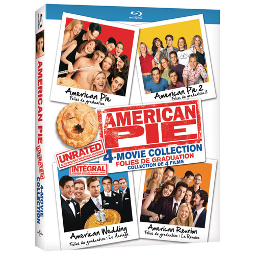 American Pie 4-Movie Unrated Collection (Blu-ray)