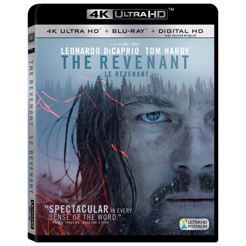 The Revenant (4K Ultra HD) (Blu-ray Combo) (2015)