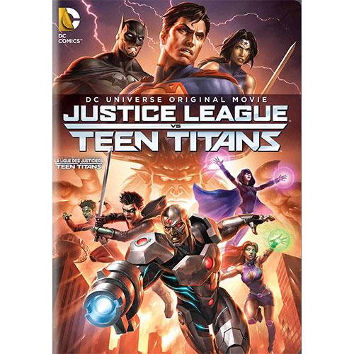 Justice League vs. Teen Titans (Bilingue)