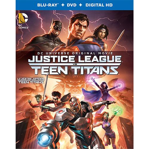 Justice League vs. Teen Titans (Bilingual) (Blu-ray Combo)