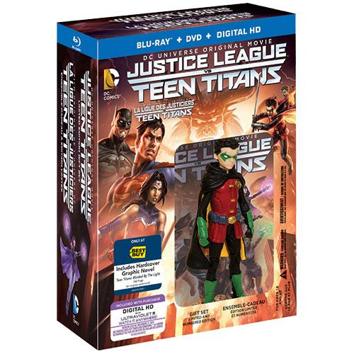 Justice League vs. Teen Titans (édition de luxe) (Seulement à Best Buy) (Blu-ray)