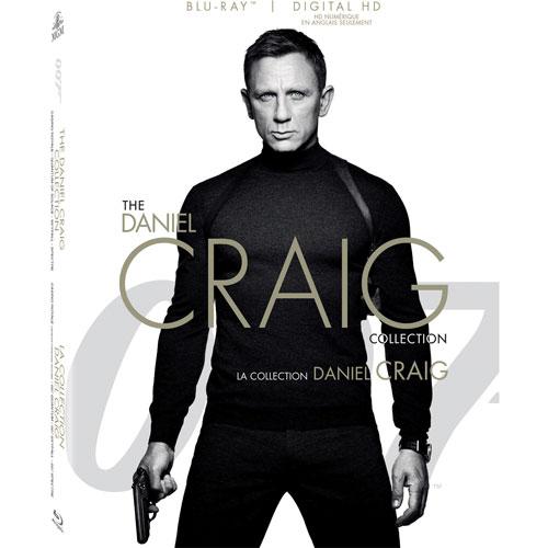 007 The Daniel Craig Collection (Bilingue) (Blu-ray)