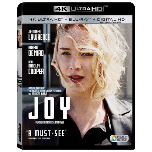 Joy (Ultra HD 4K) (combo Blu-ray) (2015)