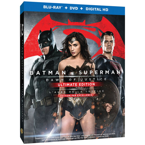 Batman v Superman: Dawn Of Justice (Bilingue) (Édition ultime) (combo Blu-ray) (2016)