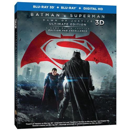 Batman v Superman: Dawn Of Justice (Bilingual) (Ultimate Edition) (3D Blu-ray Combo) (2016)