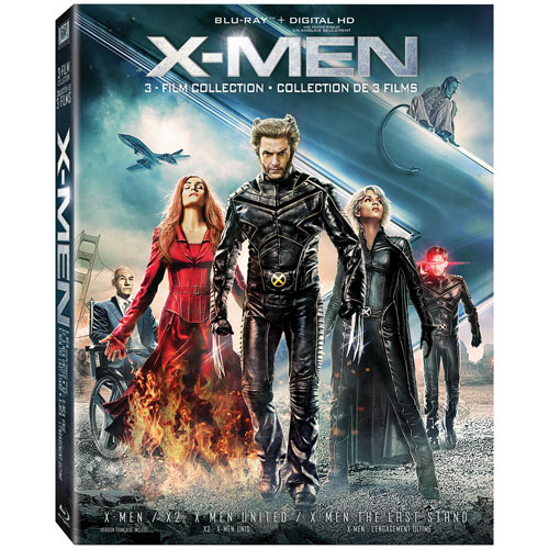 X-Men Trilogy (combo Blu-ray) (Icons)