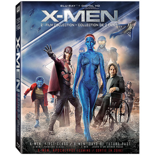 X-Men: First Class/ Days of Future Past (combo Blu-ray)