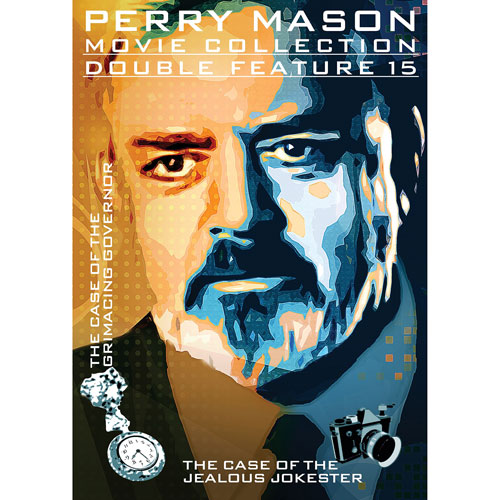Perry Mason: Case of the Grimacing Governor/ Case of the Jealous Jokester