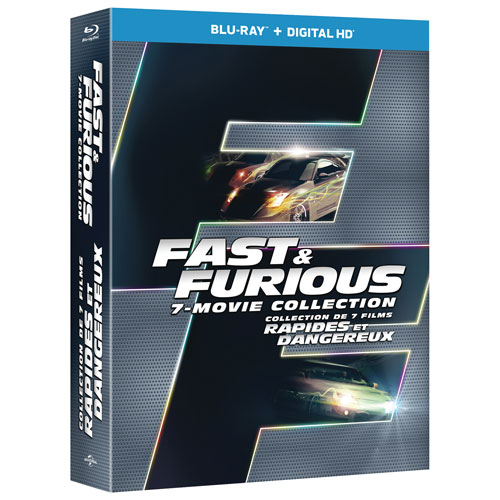 Fast 1-7 Collection (Blu-ray)