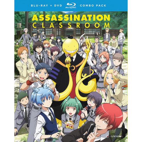 Assassination Classroom: Season 1 Part 1 (Blu-ray Combo)