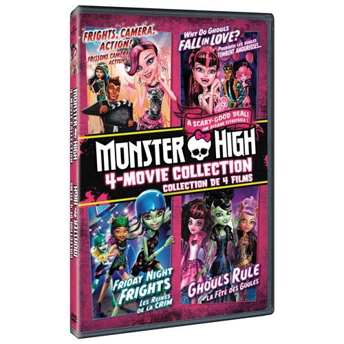 Monster High: 4 Movie Collection