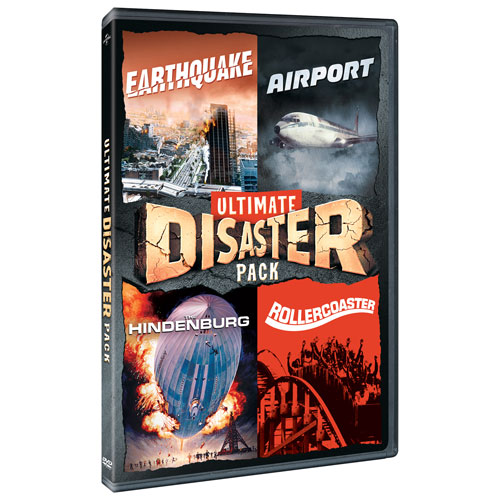 Ultimate Disaster Pack: Earthquake/ Airport/ Hindenburg/ Rollercoaster