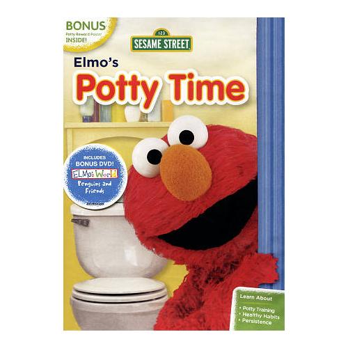 Sesame Street: Elmo's Potty Time (With Bonus Disc)
