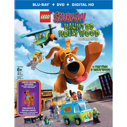 LEGO: Scooby Doo Haunted Hollywood (With Figurine) (Bilingual) (Blu-ray)